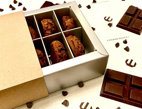 Double chocolate cookies 20 pieces